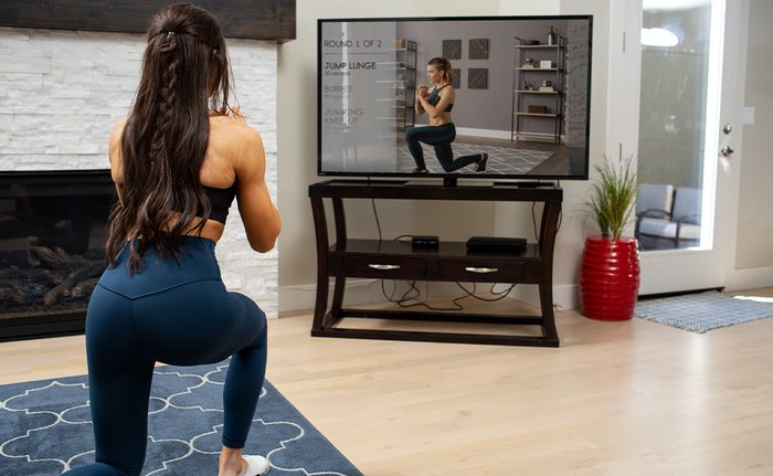 Using Bodyfit at home.